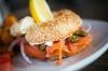 BAGEL LOX (smoked salmon)